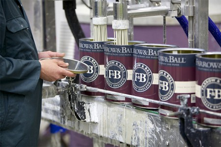 fabrication peintures farrow and ball