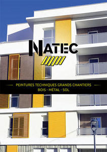Natec peintures techniques grand chantier